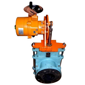 Motorised Pinch Valve